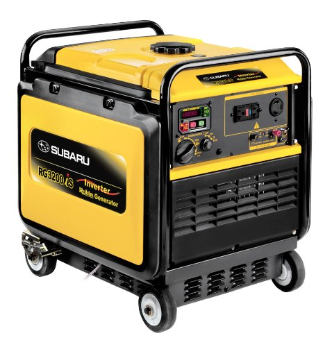Subaru Rg3200Is Inverter Silent Generator, Ex21, 7 Hp Subaru Ohc Engine, 3200-Watt