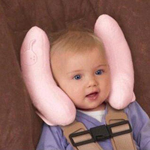 Sunching bambino protettivo sede del rilievo / ammortizzatore / corpo testa pad protettivo duplex (colore rosa)