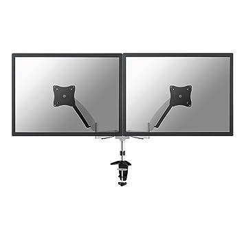 NewStar FPMA-D950D Flatscreen Desk Mount fur 2x LCD/TFT (60 cm (24 Zoll), Belastbarkeit: 20Kg)