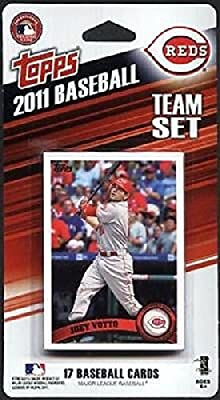 2011 Topps Cincinnati Reds Factory Sealed Special Edition 17 Card Team Set with Joey Votto Jay Bruce Plus