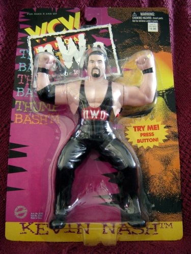 Kevin Nash Diesel Nwo Wrestling Action Figure Wcw Wwf Wwe Picture