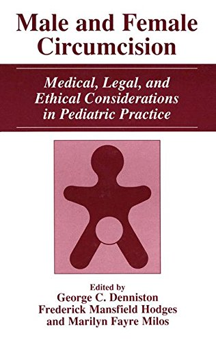 Male and Female Circumcision: Medical, Legal, and Ethical Considerations in Pediatric Practice