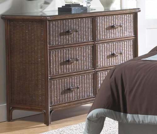 Wicker Dresser Furniture front-1064616