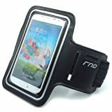 RND Slim-Fit Active Sports Armband Case For Samsung Galaxy S4 (black)