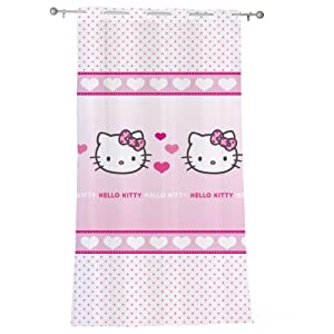 Cti 041415 Cortina Hello Kitty Mimi Love, 140 x 240 cm en BebeHogar.com