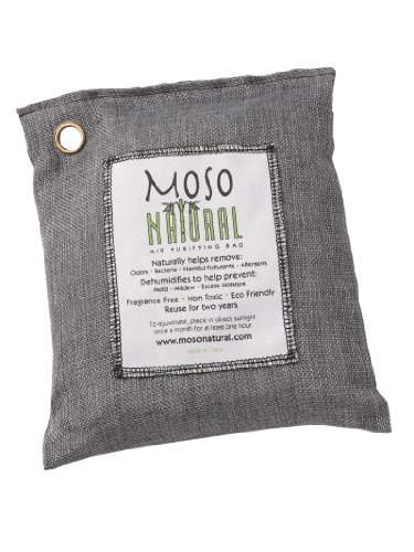 Moso MB2579 Natural Air Purifying Bag, 200gm, Charcoal