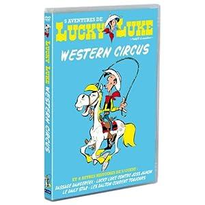 Lucky Luke, western circus