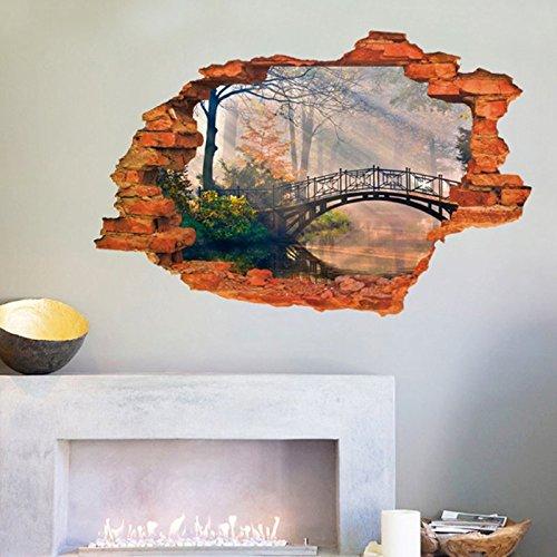 ponte-fiume-alberi-3d-home-finta-finestra-adesivo-da-parete-decorazioni-in-pvc-vinile-carta-da-parat