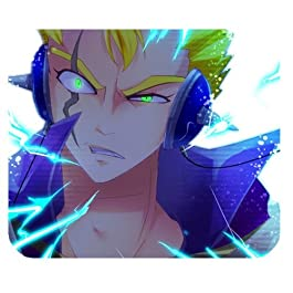 Tapis de Souris Fairy Tail Design pour PC Portable Gel Mouse Mat Gel Mouse Pad