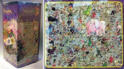 Heye-2000-piece-puzzle-Crazy-Jogging-by-Blachon
