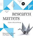 img - for Research Matters by Rebecca Moore Howard (2012-01-24) book / textbook / text book