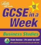 Nicky Small GCSE in a Week: Business Studies (Revise GCSE in a Week)