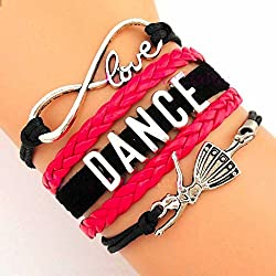 Infinity Collection Dance Bracelet- Girls Dance Jewelry - Perfect Gift For Dance Recitals