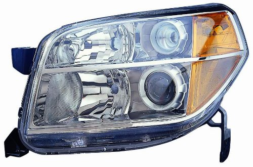 Depo 317-1149L-US2 Honda Pilot Driver Side Replacement Headlight Unit without Bulb (1149 Bulb compare prices)