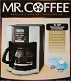 Mr. Coffee EHX33CP 12-Cup Programmable Coffeemaker