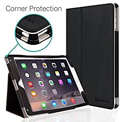 CaseCrown Bold Standby Pro Case (Black) for Apple iPad Air 2 with Hand Grip, Corner Protection, & Multi-Angle Viewing Stand (Built-in magnetic for sleep / wake feature)