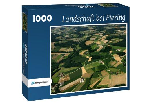 Puzzle 1000 Teile - Landschaft bei Piering
