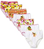 Handcraft Little Girls' Nick Dora Seven-Pack Panty Set (Pack of 7)