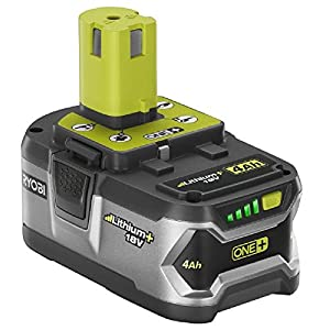 Ryobi P108 18-Volt One Plus Lithium Plus High Capacity Battery (Retail Package)