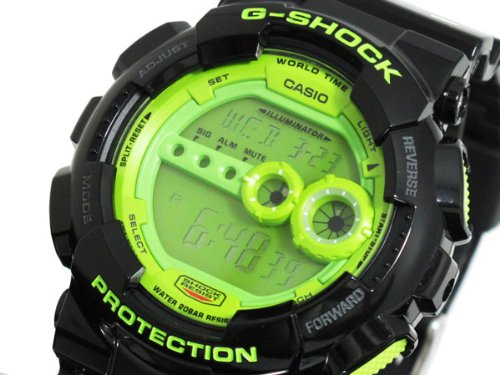 Casio CASIO G shock g-shock high luminance LED watch GD 100SC-1 [parallel import goods]