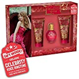 Taylor Swift Wonderstruck Enchanted Gift Set for Women with Bonus Celebrity Voice Ring Tone, 3 pc