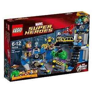 Lego Super Heroes - Marvel - 76018 - Jeu De Construction - La Destruction Du Labo