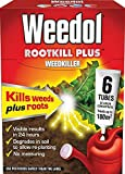 Weedol Rootkill Plus Liquidose 6 Tubes Pro Weedkiller Results in 24 Hours