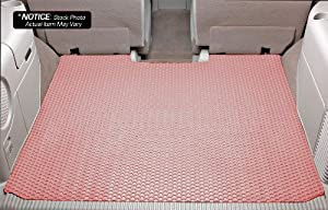 Volvo C70 Lloyd Mats Rubbertite Custom-Fit All-Weather Rubber Floor Mats Trunk Area - Trunk Mat In 2 Pcs - Pink (2006 06 2007 07 2008 08 2009 09 2010 10 )
