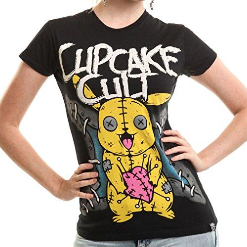 Cupcake Cult -  T-shirt - Donna nero Large