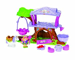 Amazon.com: Fisher-Price Little People Fairy Treehouse ...