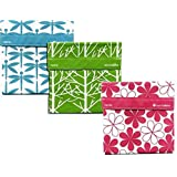 Lunchskins 3pk Reusable Sandwich Bags: Dragonfly Tree Flower