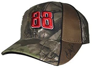 Dale Earnhardt Jr #88 NASCAR Camo Hendrick Motorsports Adjustable Hat