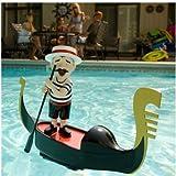 Cute Singing Pool Gondolier