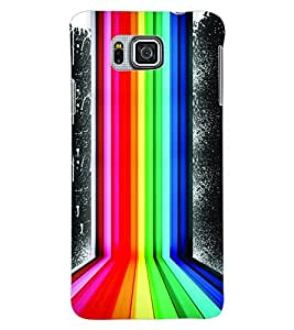 ColourCraft Pattern Back Case Cover for SAMSUNG GALAXY ALPHA G850