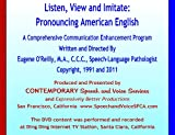 img - for Listen, View and Imitate: Pronouncing American English book / textbook / text book