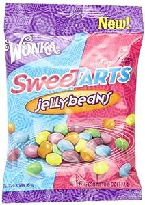 Nestle Wonka Sweetarts Jelly Beans Candy, Peg Bag, 6 Ounce (Pack of 12)