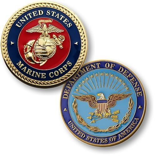 Marine Corps Seal Enamel