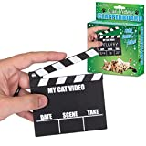 Accoutrements Cat Video Clapperboard Movie Clapper Board (Color: Black, Tamaño: One Size)