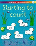 Starting to Count (Usborne First Learning) (0746035217) by Tyler, Jenny