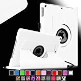 iPad mini Case - Fintie iPad mini 3 / iPad mini 2 / iPad mini Case, 360 Degree Rotating Multi-Angle Stand Smart Cover with Auto Wake/Sleep Feature, White