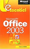 Microsoft Office System 2003 - L'Essentiel - livre de rfrence - franais