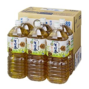 [2CS]伊藤園 香ばしい健康茶そば茶(2L×6本)×2箱
