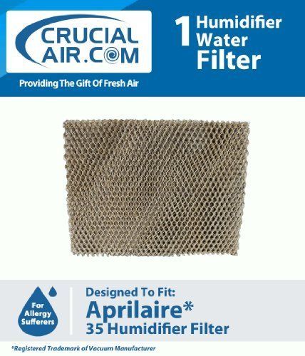 High Quality Humidifier Filter Water Panel Pad Designed To Fit Aprilaire Humidifier Models 560, 560A, 568, 600, 600A, 600M, 700, 700A, 700M, 760, 760A, 768, Fits Lennox WB2-17/WP2-18, Compare To Aprilaire 35 Water Panel Part # 35, Designed & Engineered by Crucial Air (Lennox 35 compare prices)