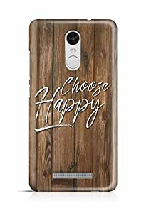 YuBingo Choose Happy Designer Mobile Case Back Cover for Xiaomi Redmi Note 3