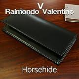 財布*RaimondoValentinoホースハイド*馬革長財布ブラック