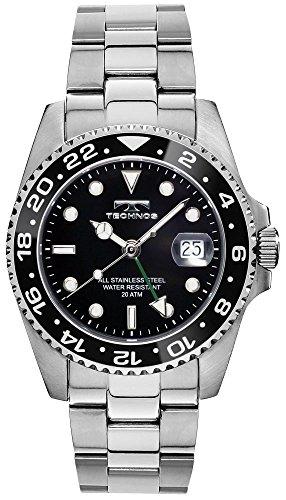 TECHNOS GMT Watch T2134SB (Watch Techno Watch compare prices)