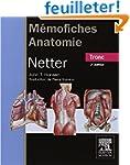 M�moFiches anatomie Netter Tronc