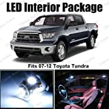 51NGCXxT%2B8L. SL160  Toyota Tundra White Interior LED Package (10 Pieces)