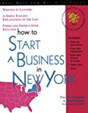 How to Start a Business in New York (Self-Help Law Kit With Forms)