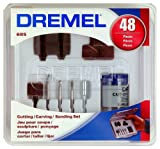 Dremel 685-01 48-Piece Cutting/Carving Accessory Set